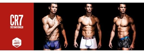 Unterwäsche und Socken von CR7 Cristiano Ronaldo günstiger