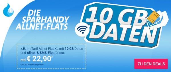 Telekom-Netz 10 GB Surfflat