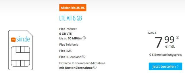 Allnet-Flat günstig o2 Telefonica
