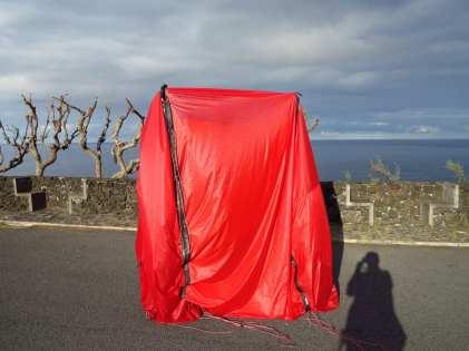 Rotes Zelt