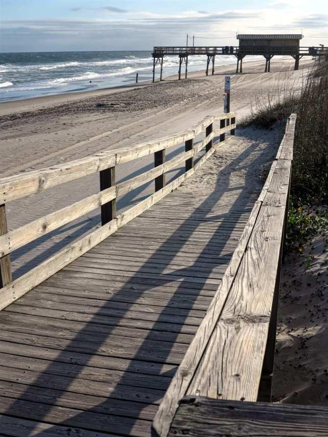 Strandzugang Holzsteg