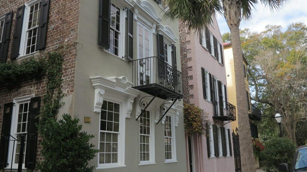 Straße im Zentrum von Charleston