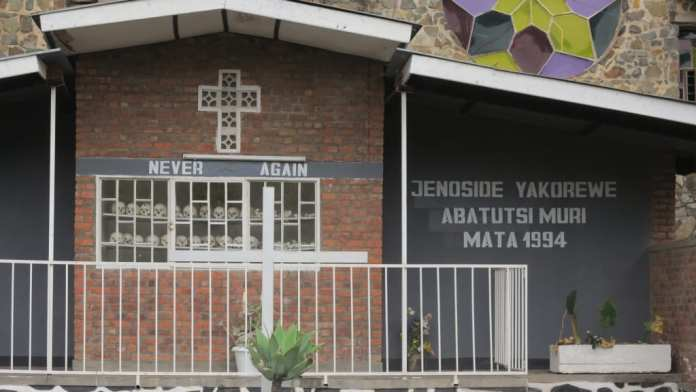 Genocide Memorial in Karongi in Ruanda