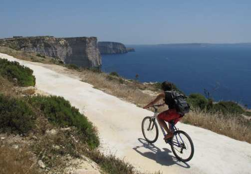 Fahrrad fahren auf Gozo
