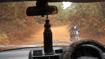 Straße in Uganda