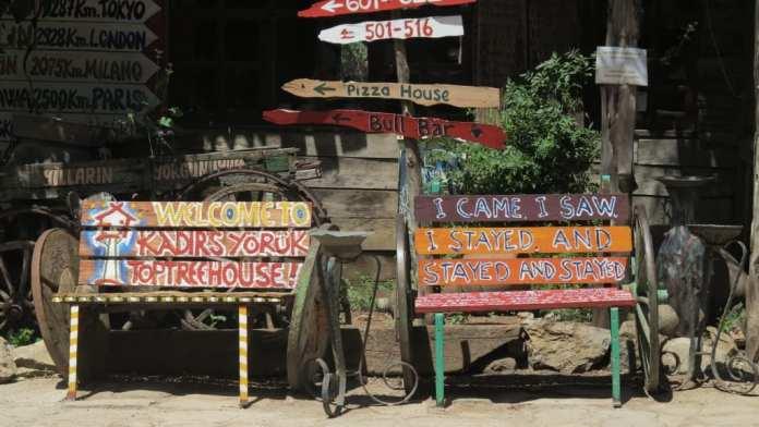 Hostel Kadir's Yörük Top Tree Houses in Olympos in der Türkei