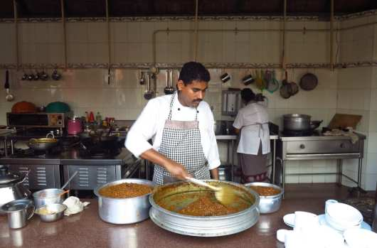 Currykoch in Kochi