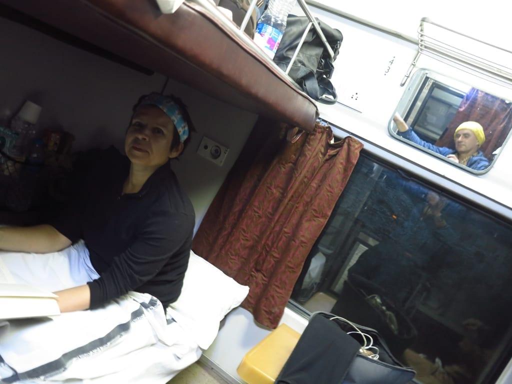 Nachtzug in Indien