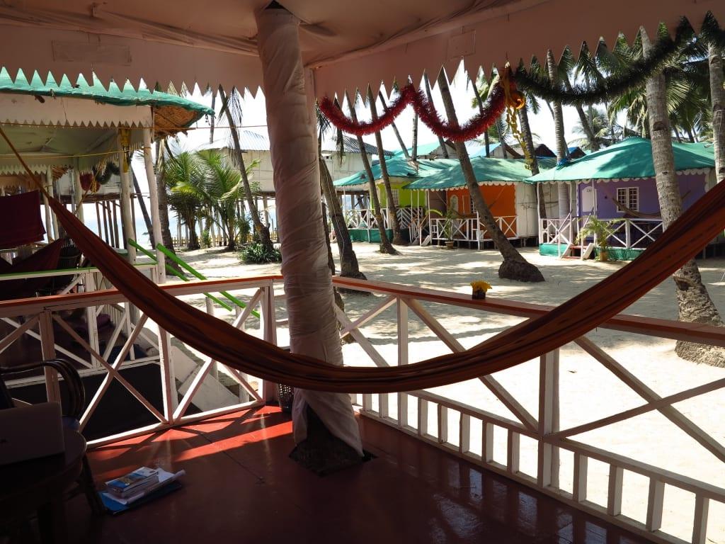 Cuba Huts in Palolem (Goa)
