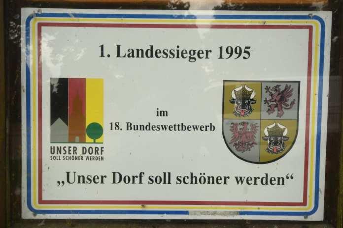 """Alt Rehse als Landessieger im Wettbewerb """"Unser Dorf soll schöner werden"""""""