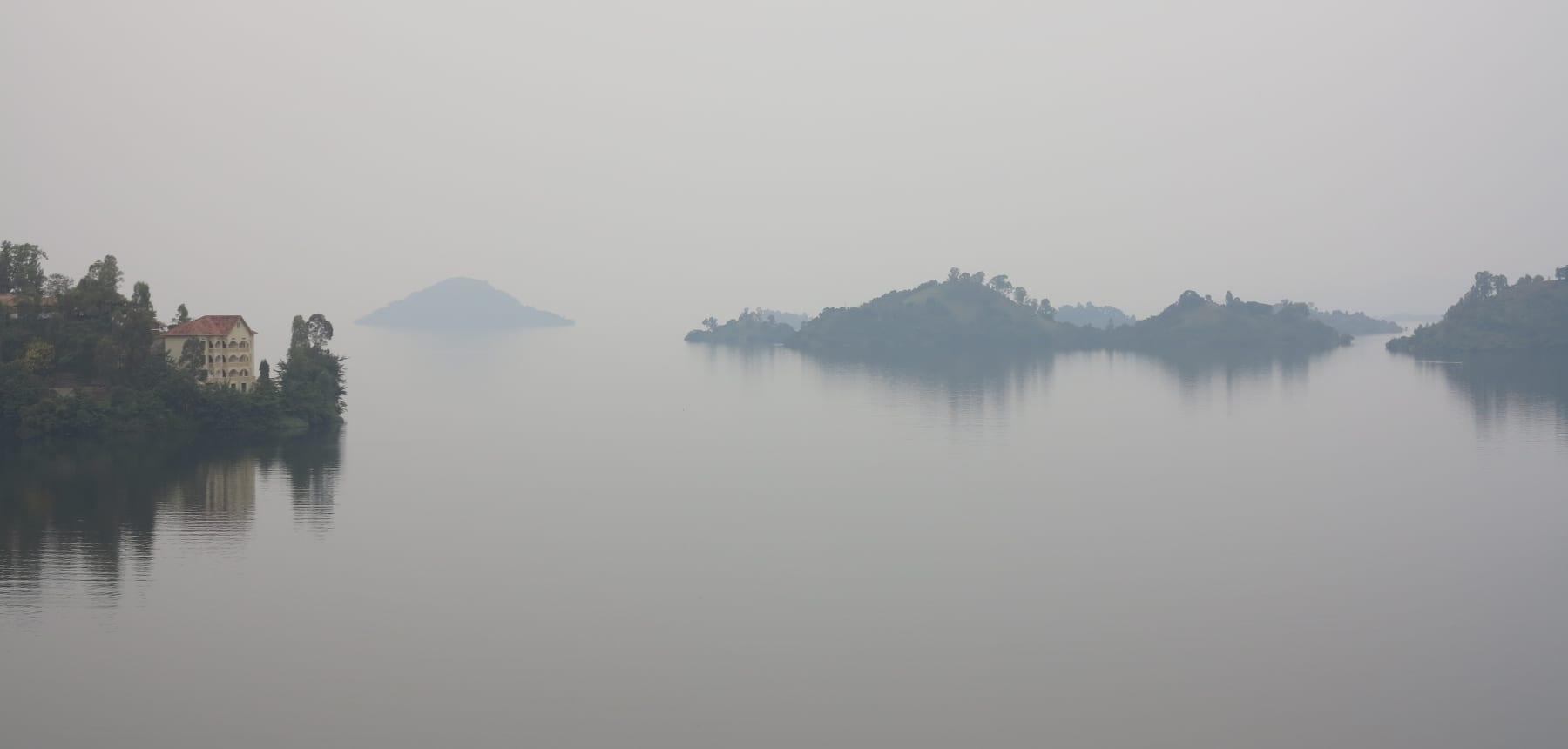 Kivu-See in Ruanda