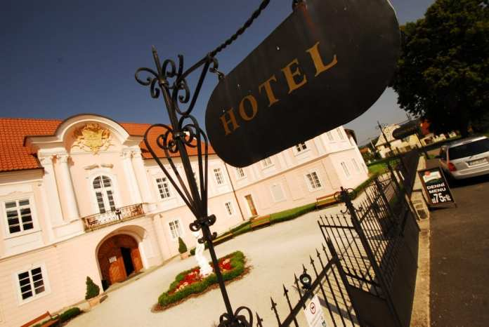 Hotel Zámek Hradek bei Susice in Südböhmen