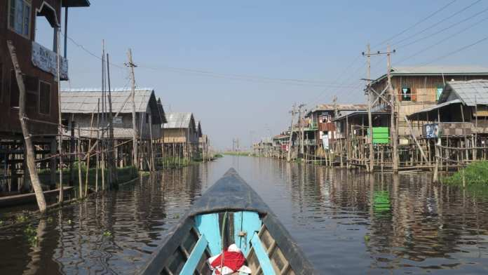 Bootstour auf dem Lake Inle in Myanmar