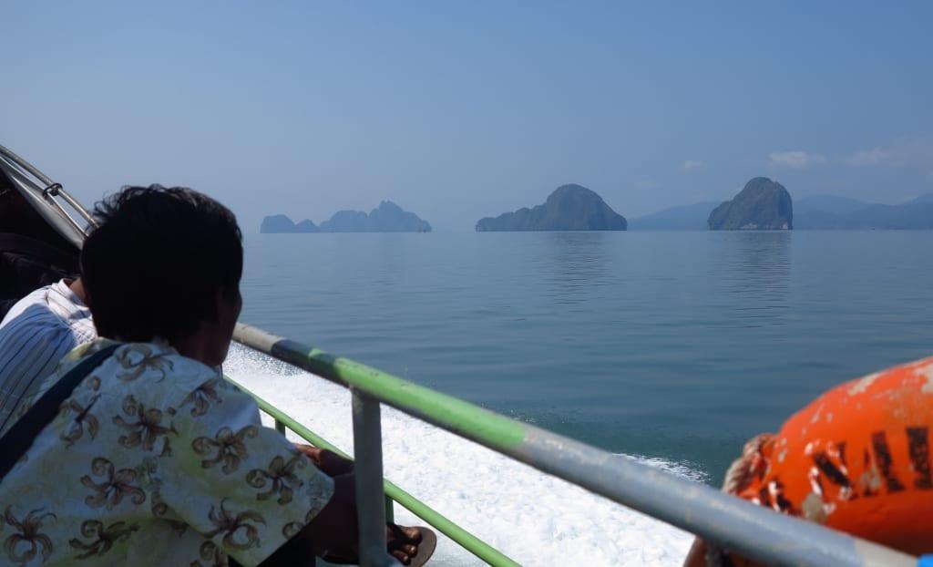 Mit dem Schnellboot durch das Myeik-Archipel in Myanmar