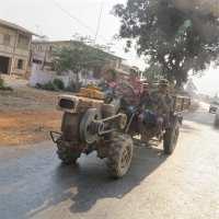 Traktor in Myanmar