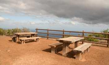 Picknickplatz mit Panorama