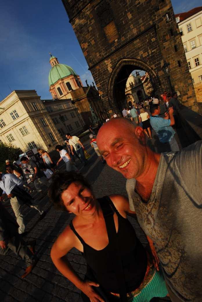 Bussmann und Tröger in Prag