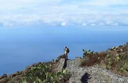 Wanderweg mit Aussicht