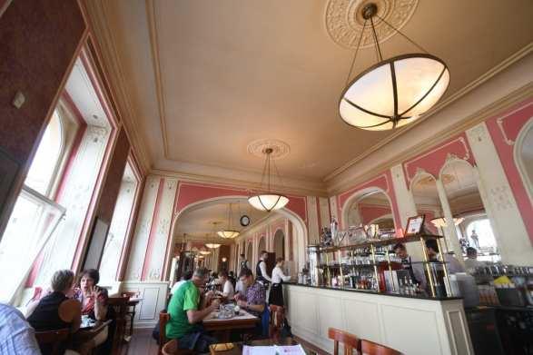 Café Louvre in Prag