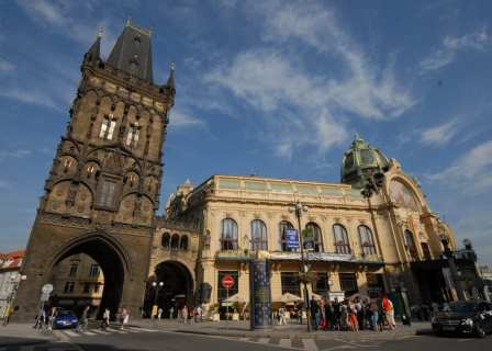 Obecní dum in Prag
