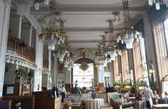 Französisches Restaurant im Obecní dum in Prag