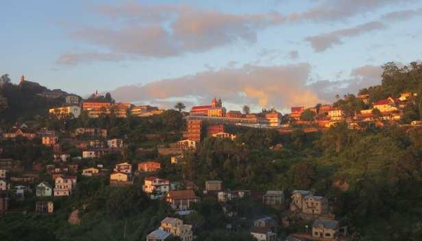 Altstadt von Fianar in Madagaskar