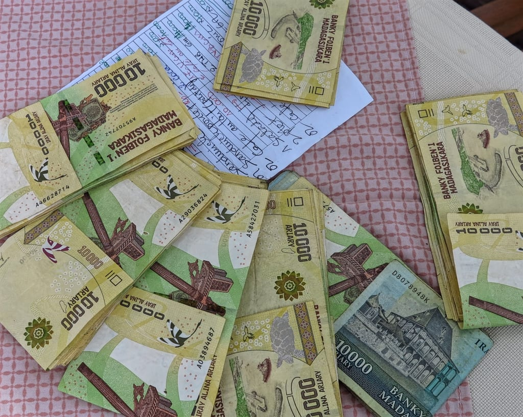 Geld in Madagaskar