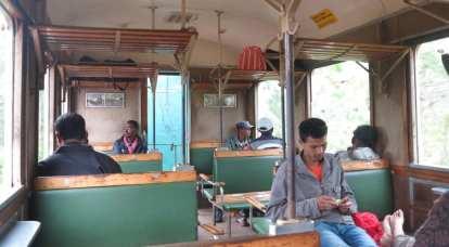 Madagaskar: Im Zug von Fianar nach Manakara