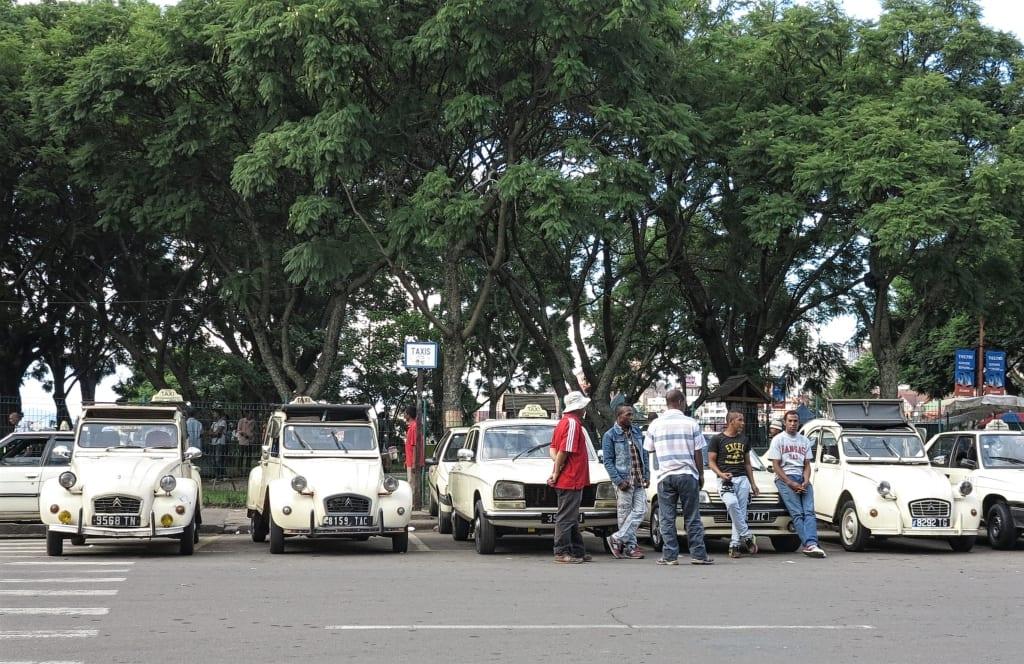 Taxifahrer in Tana