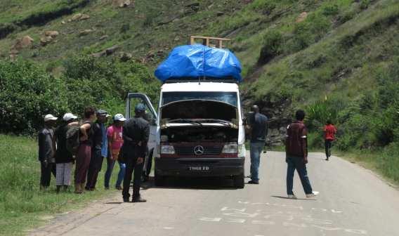 Taxi Brousse in Madagaskar