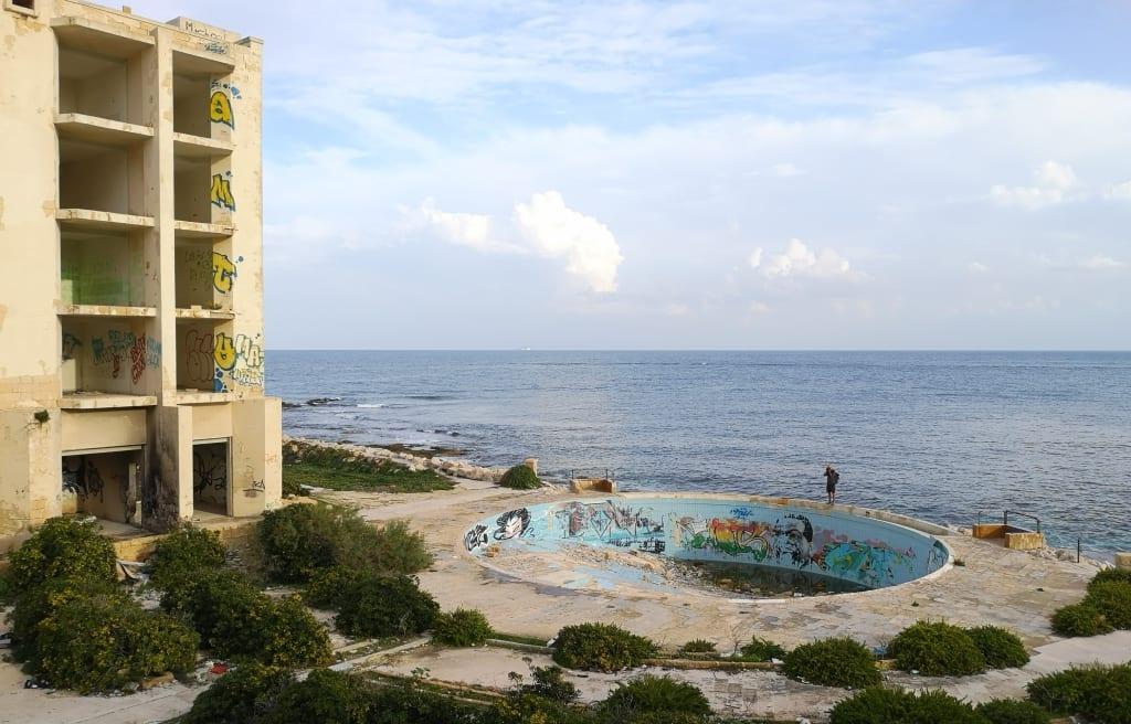 Pool des Jerma Palace Hotel in Malta