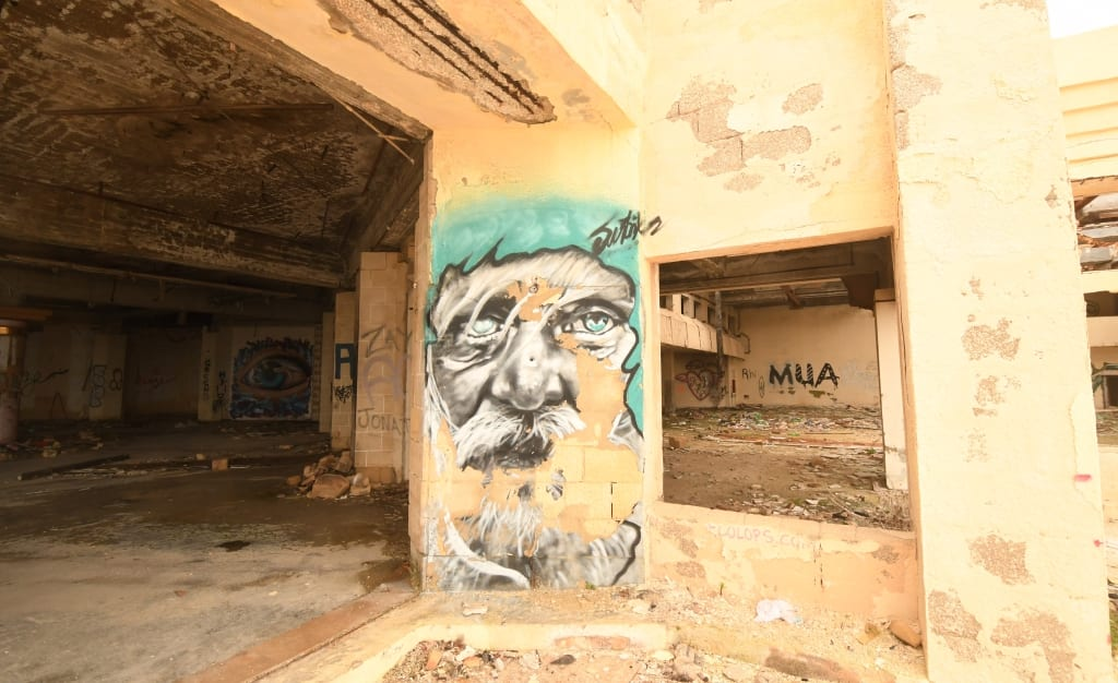 Lost Place Jerma Palace in Malta