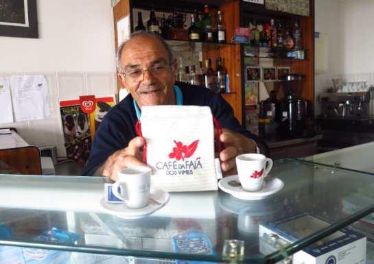 Café Nunes auf Sao Jorge (Azoren)