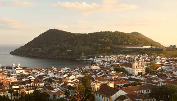 Angra do Heroísmo auf Terceira