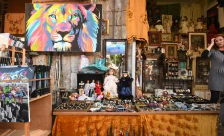 Flohmarkt in Jaffa