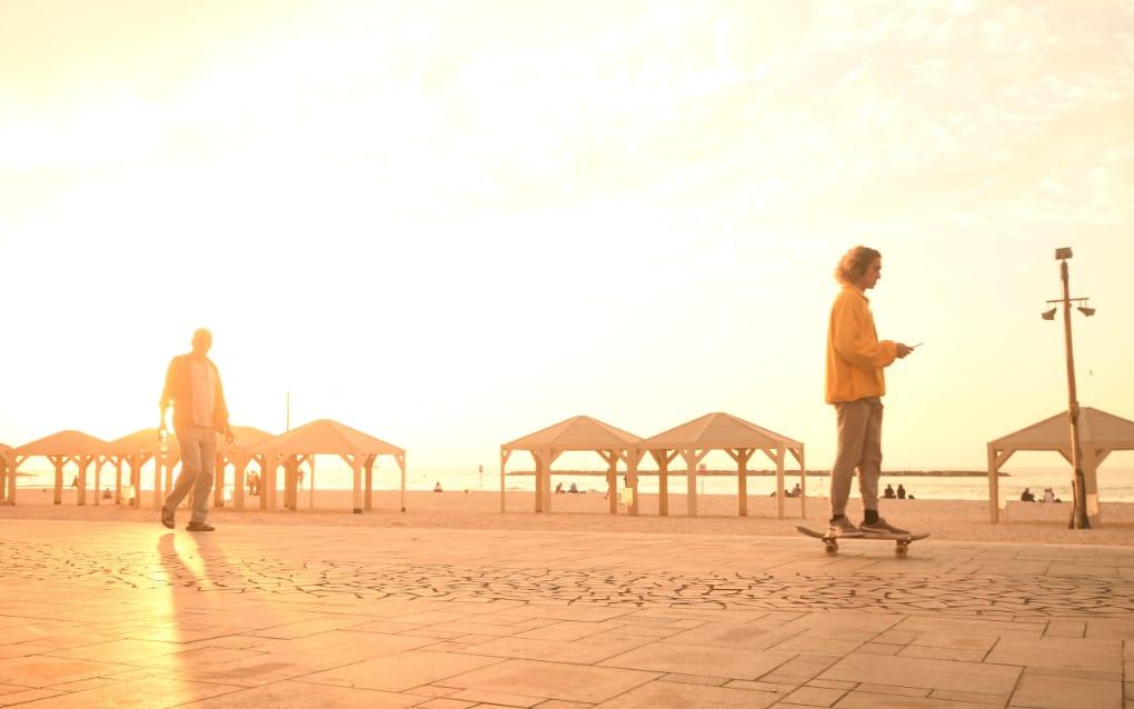 Uferpromenade von Tel Aviv