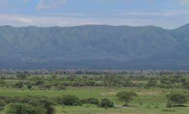 Landschaft bei Mbeya in Tansania