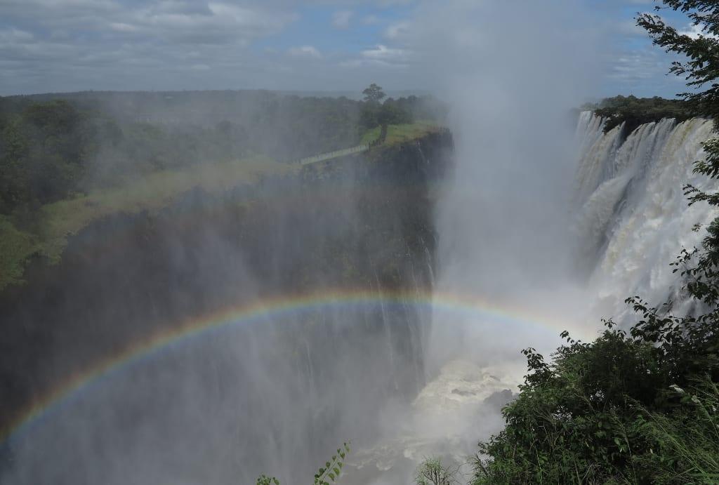 Victoria Falls in Sambia