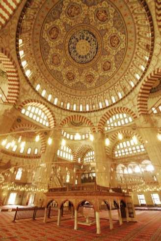 Selimiye-Moschee in Edirne von innen