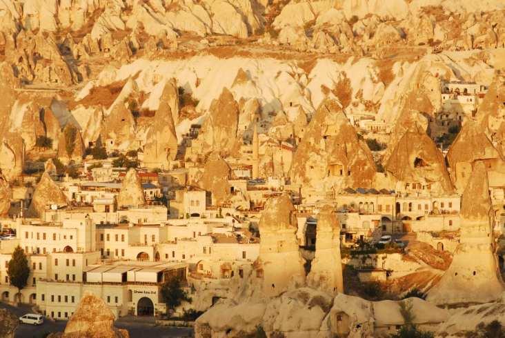 Göreme in Kappadokien in der Türkei
