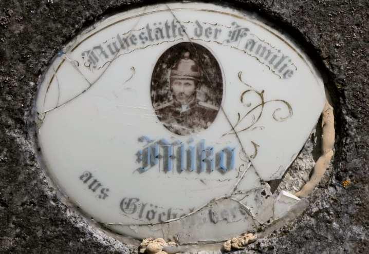 Deutsche Grabinschrift in Tschechien