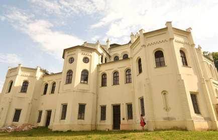 Schlossähnliches Gebäude bei Tachov in Tschechien