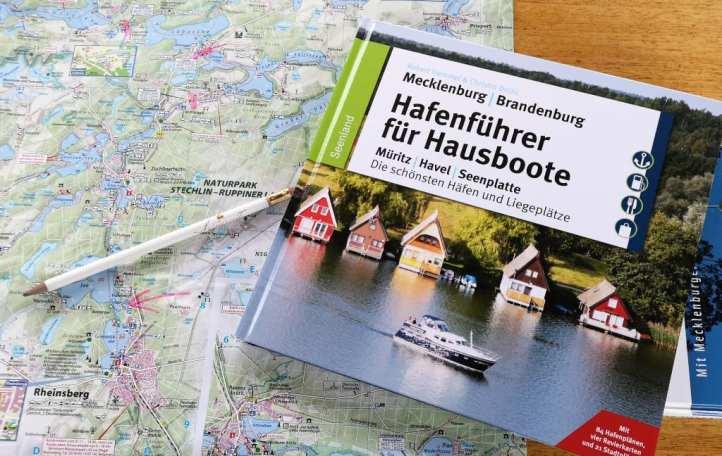 Hafenführer Seenplatte und Karte