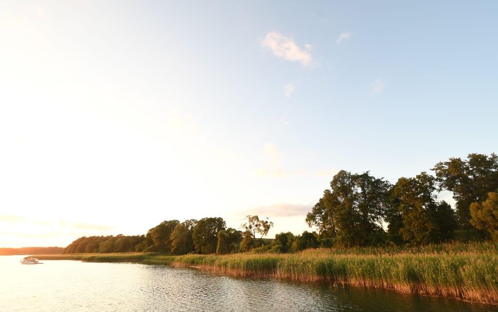 Abendstimmung an einem See