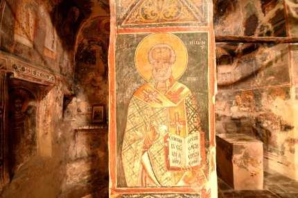 Fresken einer Kirche