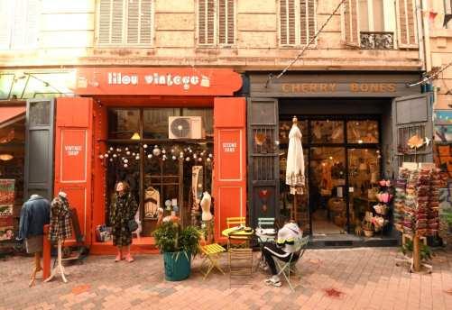 Geschäft Lilou Vintages
