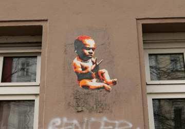 Baby Street Art