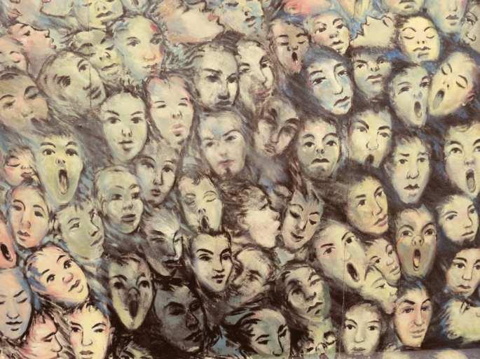 Viele Menschen Gemälde