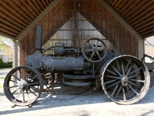 Historischer Traktor