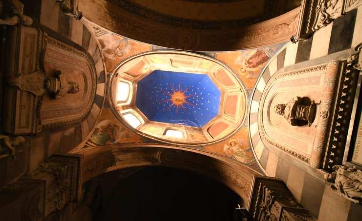 Gewölbe einer Kirche